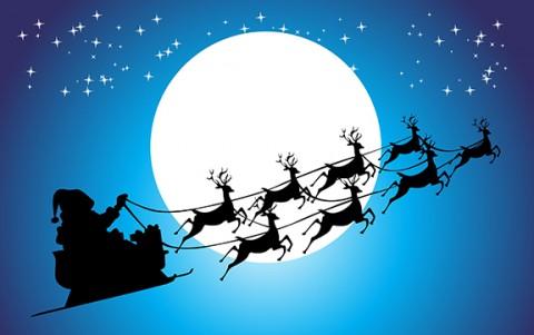 Santa-reindeer-silhouett-web