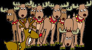 ReindeerWithRudolph